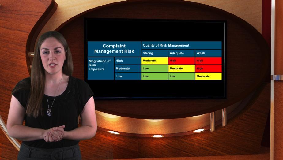 Risk Watch 15: Four Keys to a Strong Complaint Management Program (NEW VIDEO)