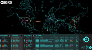 Want to Get Freaked Out? Check Out This Live Cyberattack Map