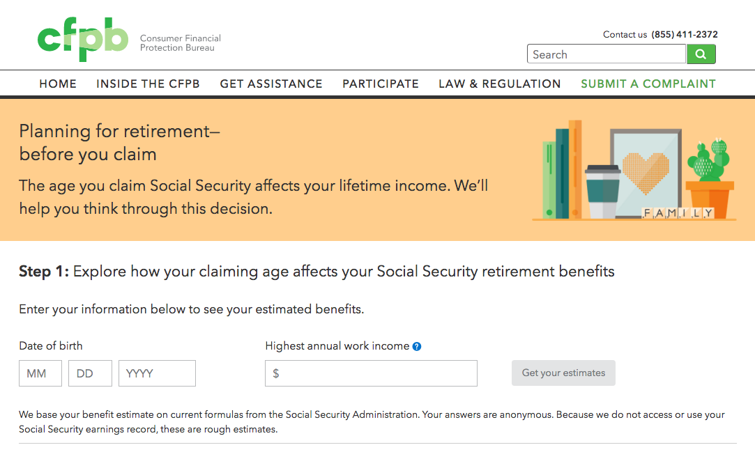 CFPB Releases New Tool for Retirement