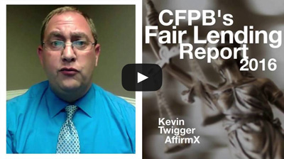 Risk Watch 130: CFPB's 2016 Fair Lending Report