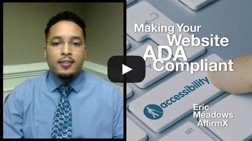Risk Watch 138: Making Your Website ADA Accessible