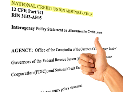 NCUA Board Adopts CECL/ACL Changes